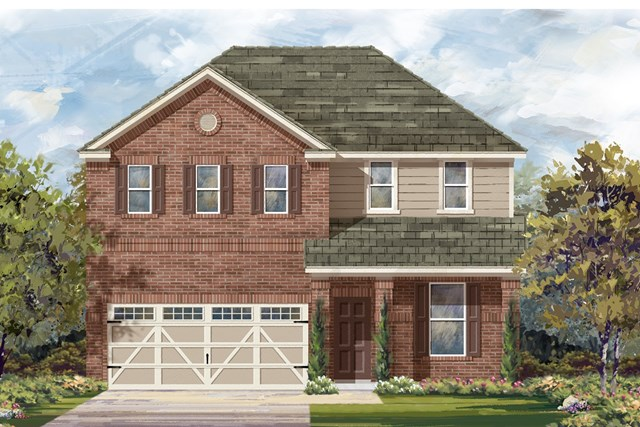 New Homes in Hutto, TX - Plan E-2403 I