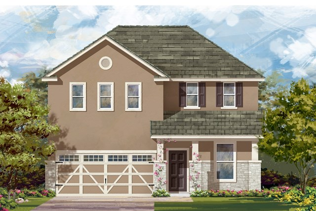 New Homes in Hutto, TX - Plan E-2403 K