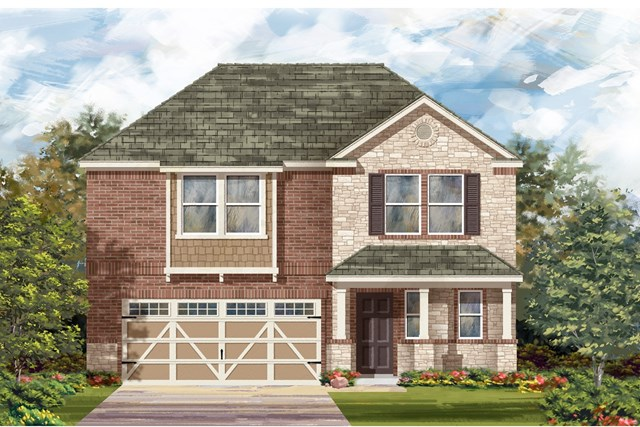 New Homes in Hutto, TX - Plan E-2412 J