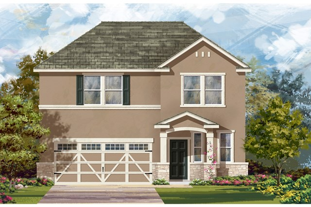 New Homes in Hutto, TX - Plan E-2412 K