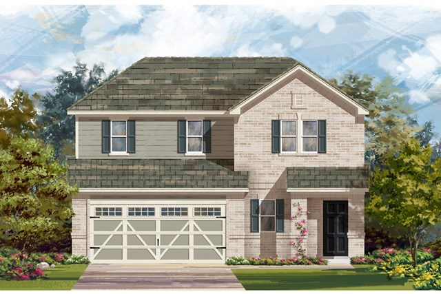 New Homes in Hutto, TX - Plan E-2516 H