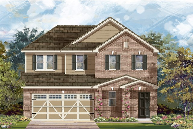 New Homes in Hutto, TX - Plan E-2516 I
