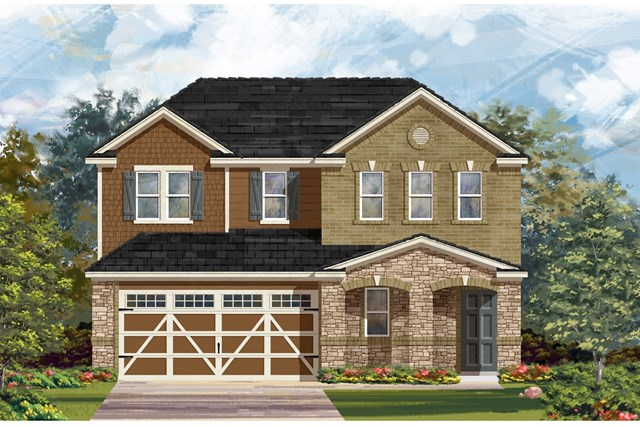 New Homes in Hutto, TX - Plan E-2516 J