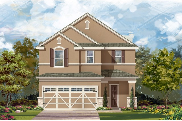 New Homes in Hutto, TX - Plan 2708 J