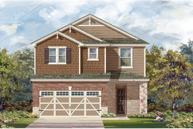 New Homes in Hutto, TX - Plan 2708 K