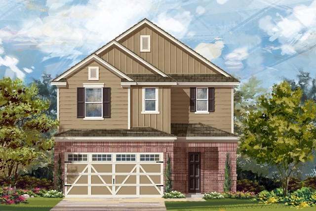 New Homes in Hutto, TX - Plan 2708 L
