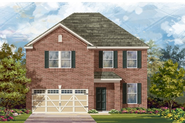 New Homes in Hutto, TX - Plan E-2898 H