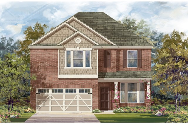 New Homes in Hutto, TX - Plan E-2898 I