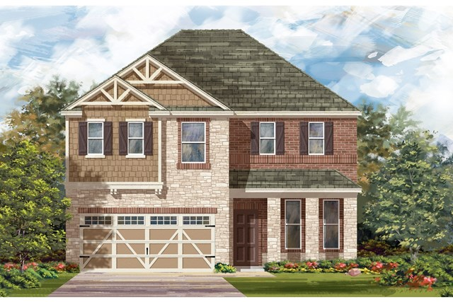 New Homes in Hutto, TX - Plan E-2898 J