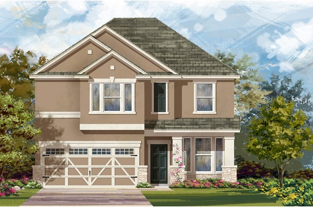 New Homes in Hutto, TX - Plan E-2898 K