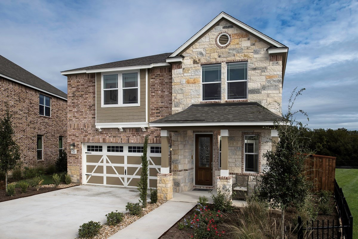 New Homes in Hutto, TX - Villas at Star Ranch Plan E-2412