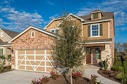 New Homes in Hutto, TX - Plan F-2411 MODELED