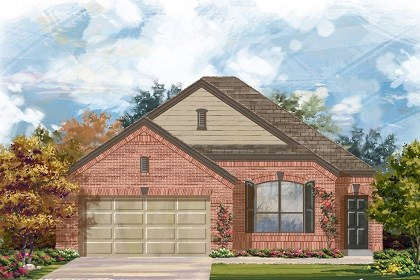 New Homes in Austin, TX - Plan A-1582 B