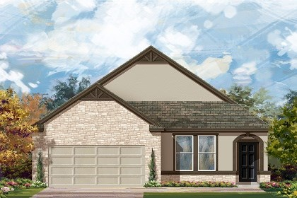 New Homes in Austin, TX - Plan A-1582 D
