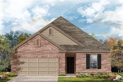 New Homes in Liberty Hill, TX - Plan A-1675 B