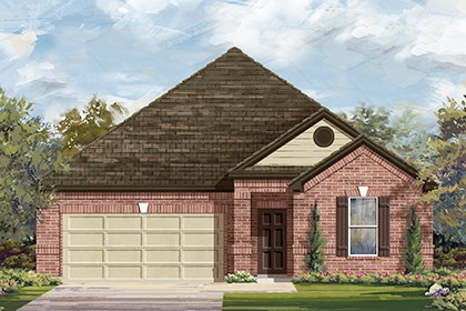 New Homes in Austin, TX - Plan A-1852 B