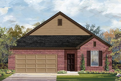 New Homes in Taylor, TX - Plan A-1996 A