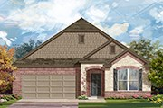 New Homes in Taylor, TX - Plan A-1996