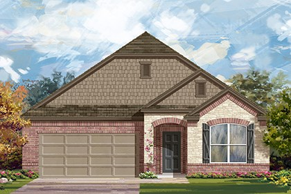 New Homes in Taylor, TX - Plan A-1996 C
