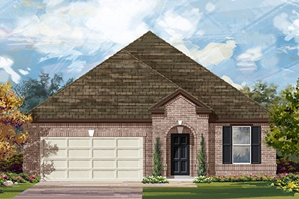 New Homes in Taylor, TX - Plan A-2089 A