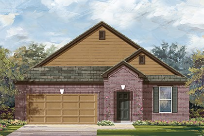 New Homes in Taylor, TX - Plan A-2089 B