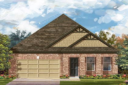 New Homes in Taylor, TX - Plan A-2089 C