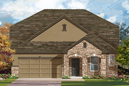 New Homes in Austin, TX - Plan A-2655 D