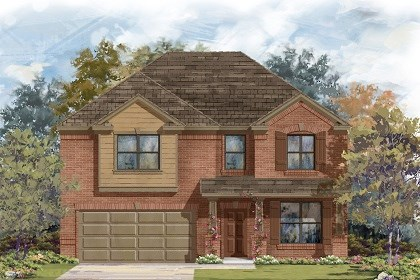 New Homes in Austin, TX - Plan A-2755 B