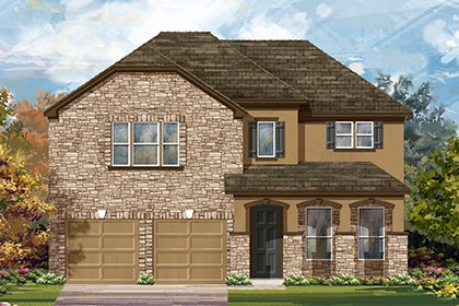 New Homes in Austin, TX - Plan A-3023 D