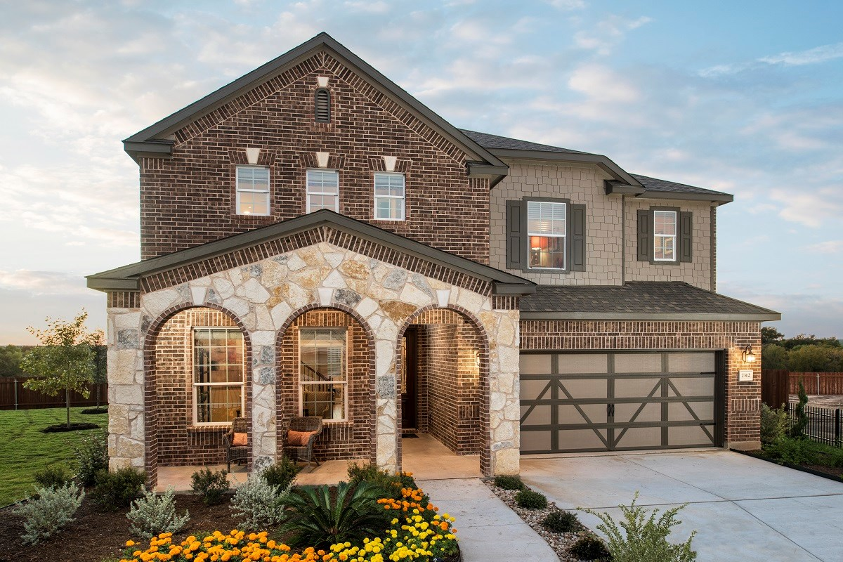 New Homes in Austin, TX - Vista Point A-2881
