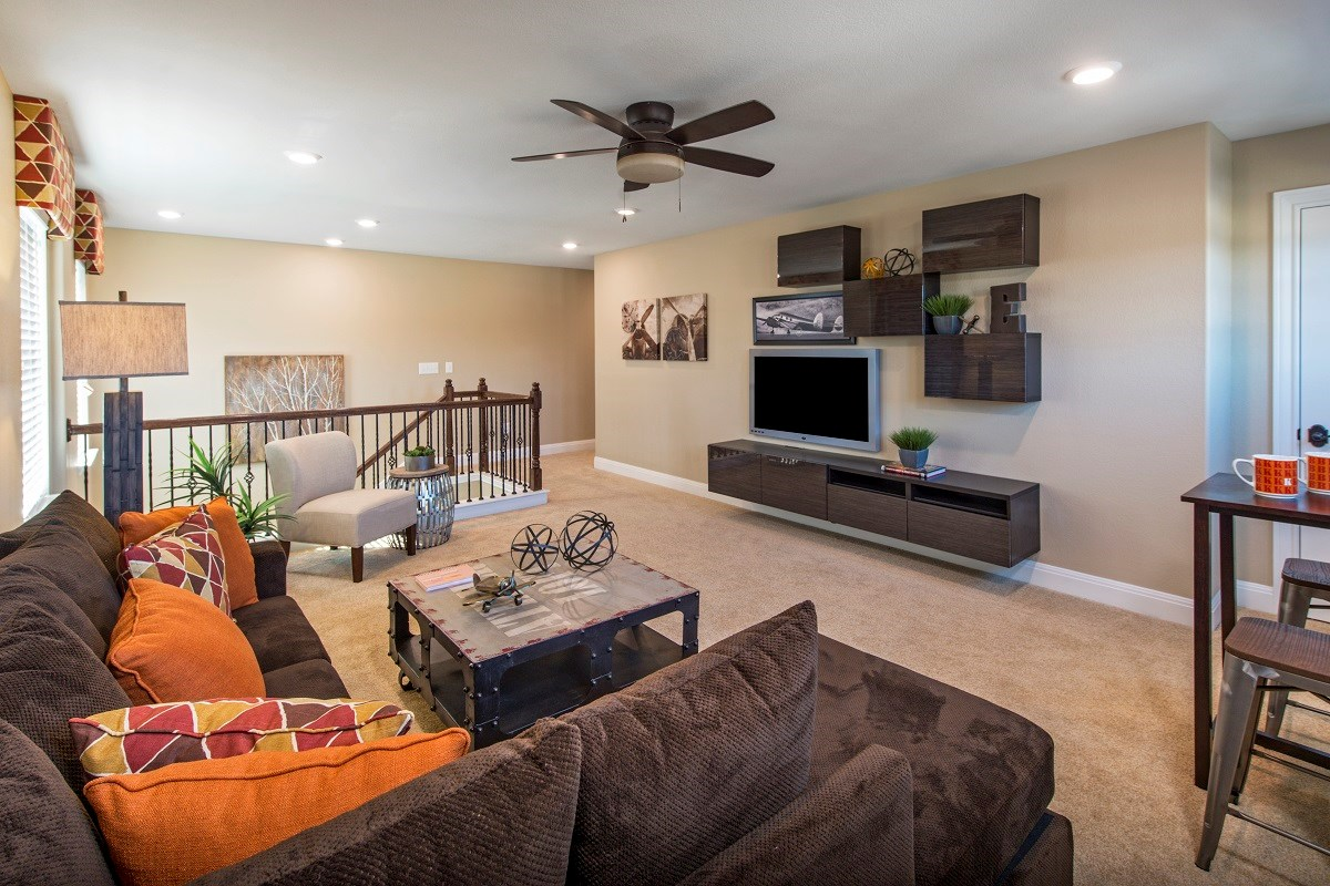 New Homes in Austin, TX - Vista Point A-2881 Game Room