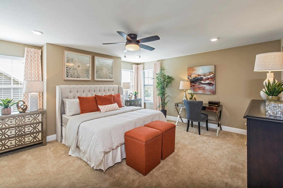New Homes in Austin, TX - Vista Point A-2881 Master Bedroom