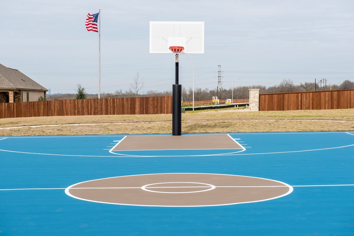 New Homes in Austin, TX - Vista Point Community Basketball Court