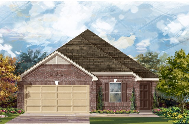New Homes in Austin, TX - Plan E-1892 H