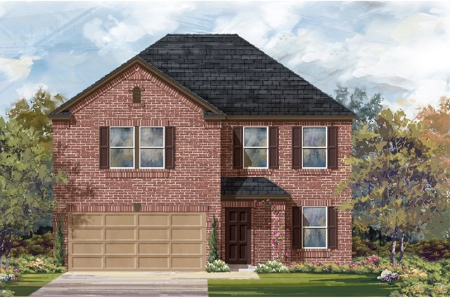 New Homes in Austin, TX - Plan E-2898 H