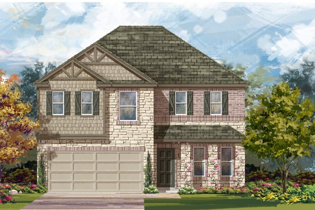 New Homes in Austin, TX - Plan E-2898 J