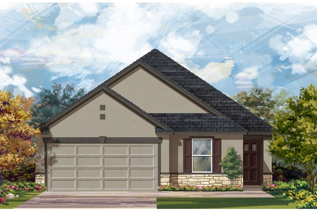 New Homes in Austin, TX - Plan E-1892 K