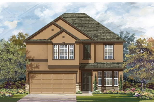 New Homes in Austin, TX - Plan E-2898 K