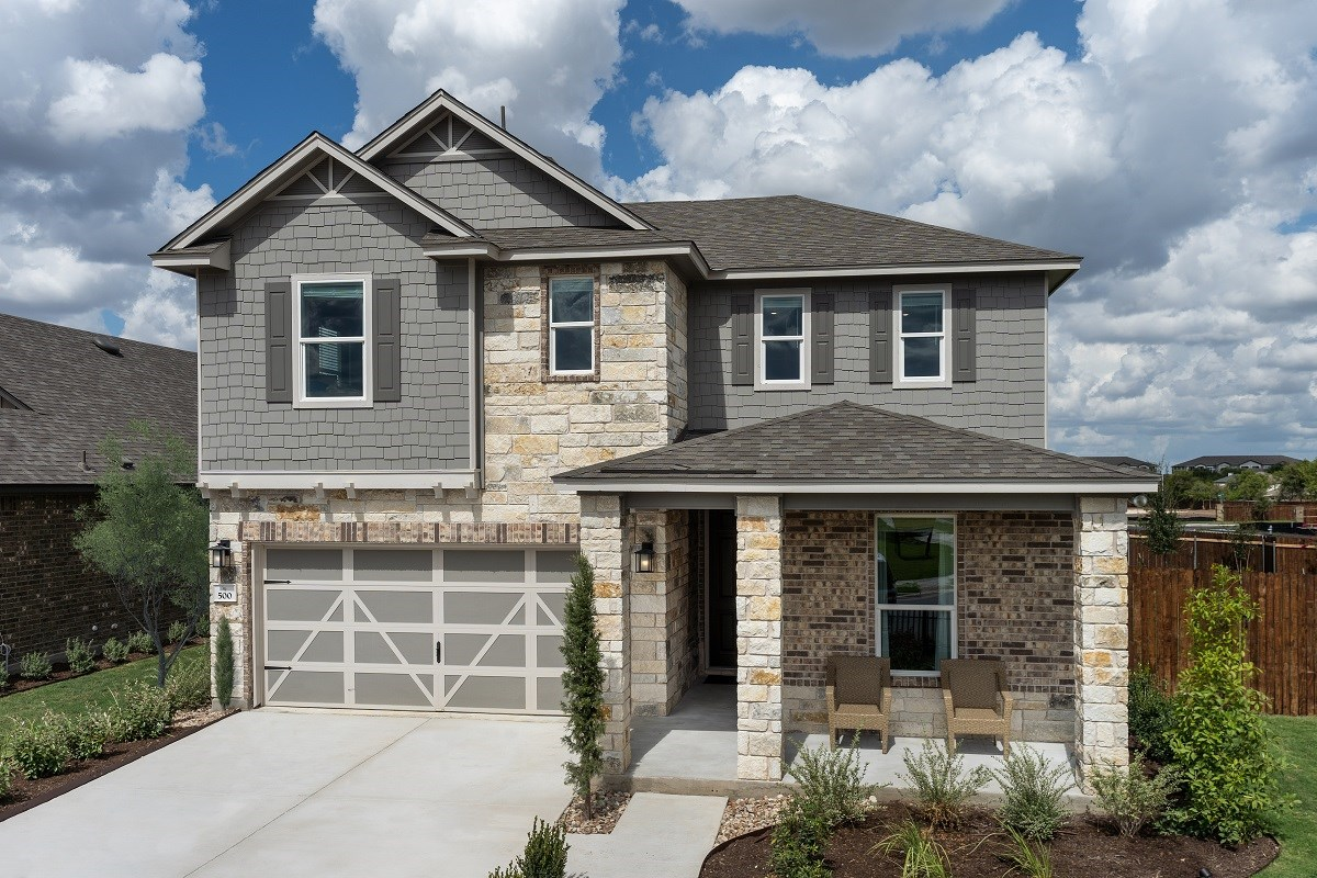 New Homes in Austin, TX - Willow Trace Plan 2403