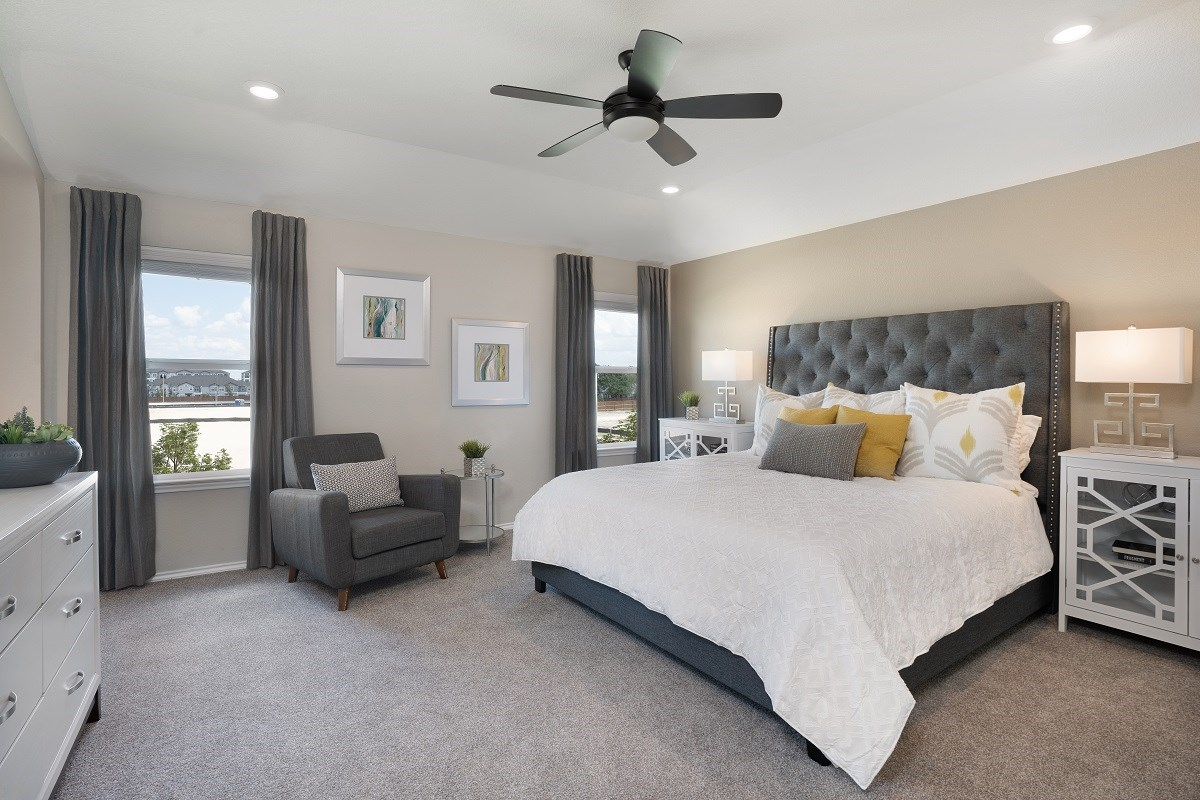 New Homes in Austin, TX - Willow Trace Plan 2403 Master Bedroom