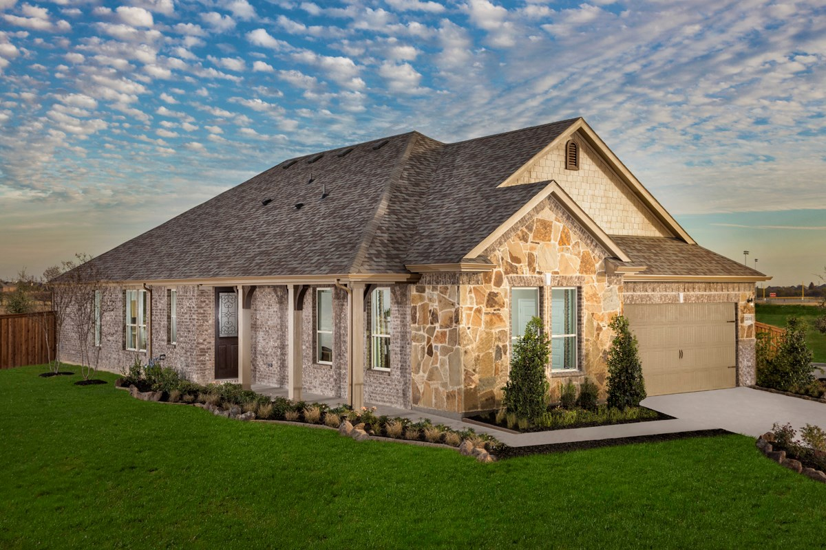 New Homes in Fort Worth, TX - Copper Creek Plan 2085
