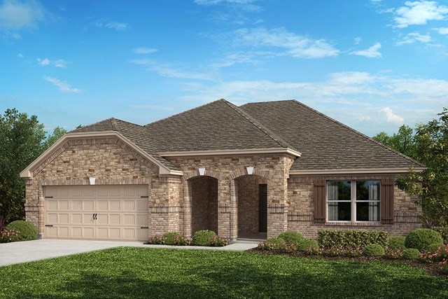New Homes in Fort Worth, TX - Elevation B