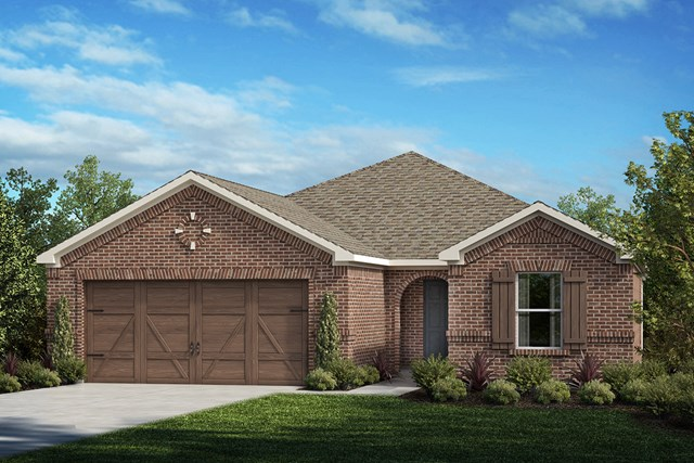 New Homes in Celina, TX - Plan 1813 Elevation A
