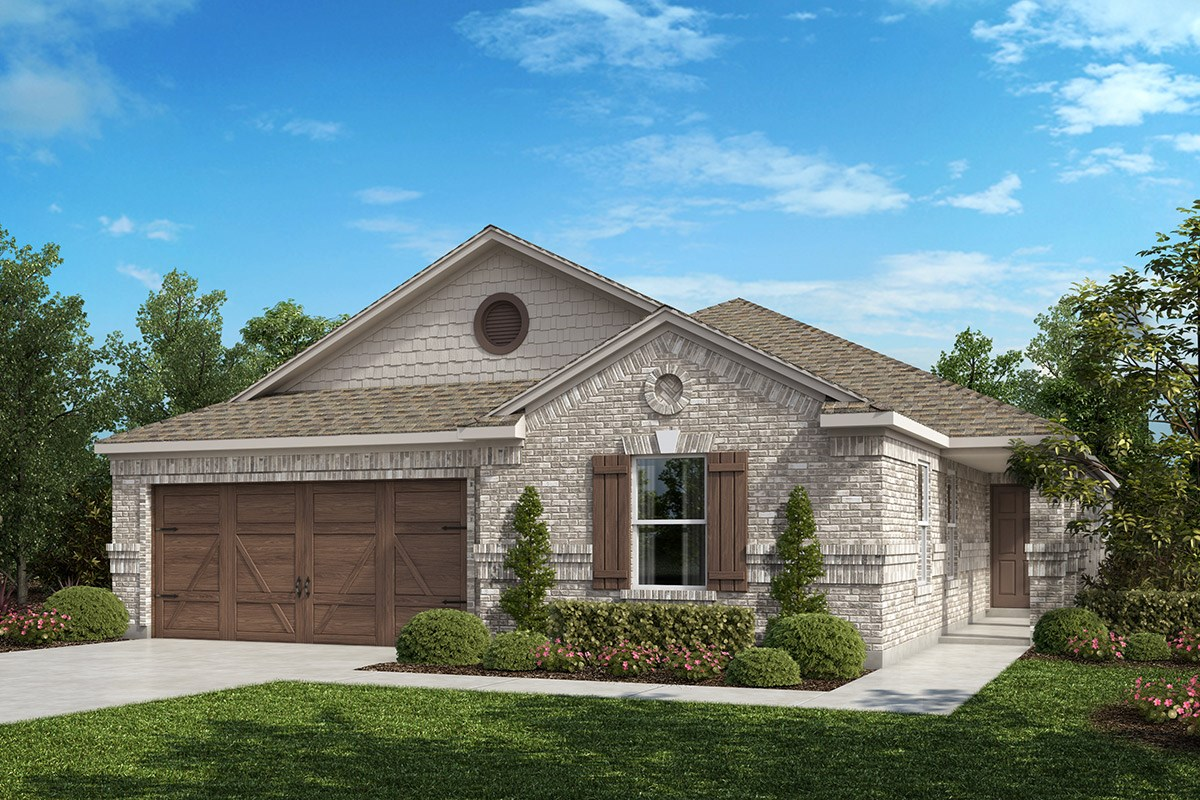 New Homes in Celina, TX - Creeks of Legacy Plan 2085 Elevation B