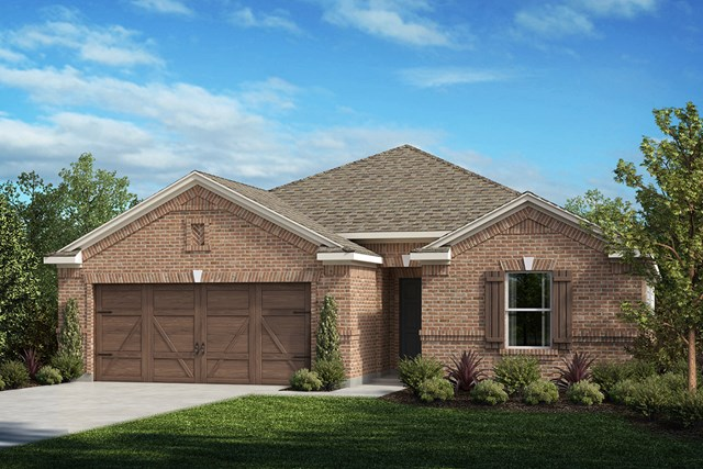 New Homes in Celina, TX - Plan 2141 Elevation A