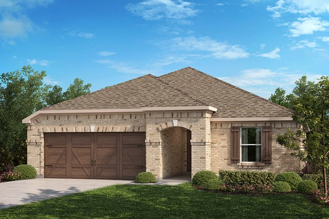 New Homes in Celina, TX - Plan 2141 Elevation B