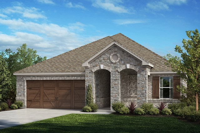 New Homes in Celina, TX - Plan 2141 Elevation D