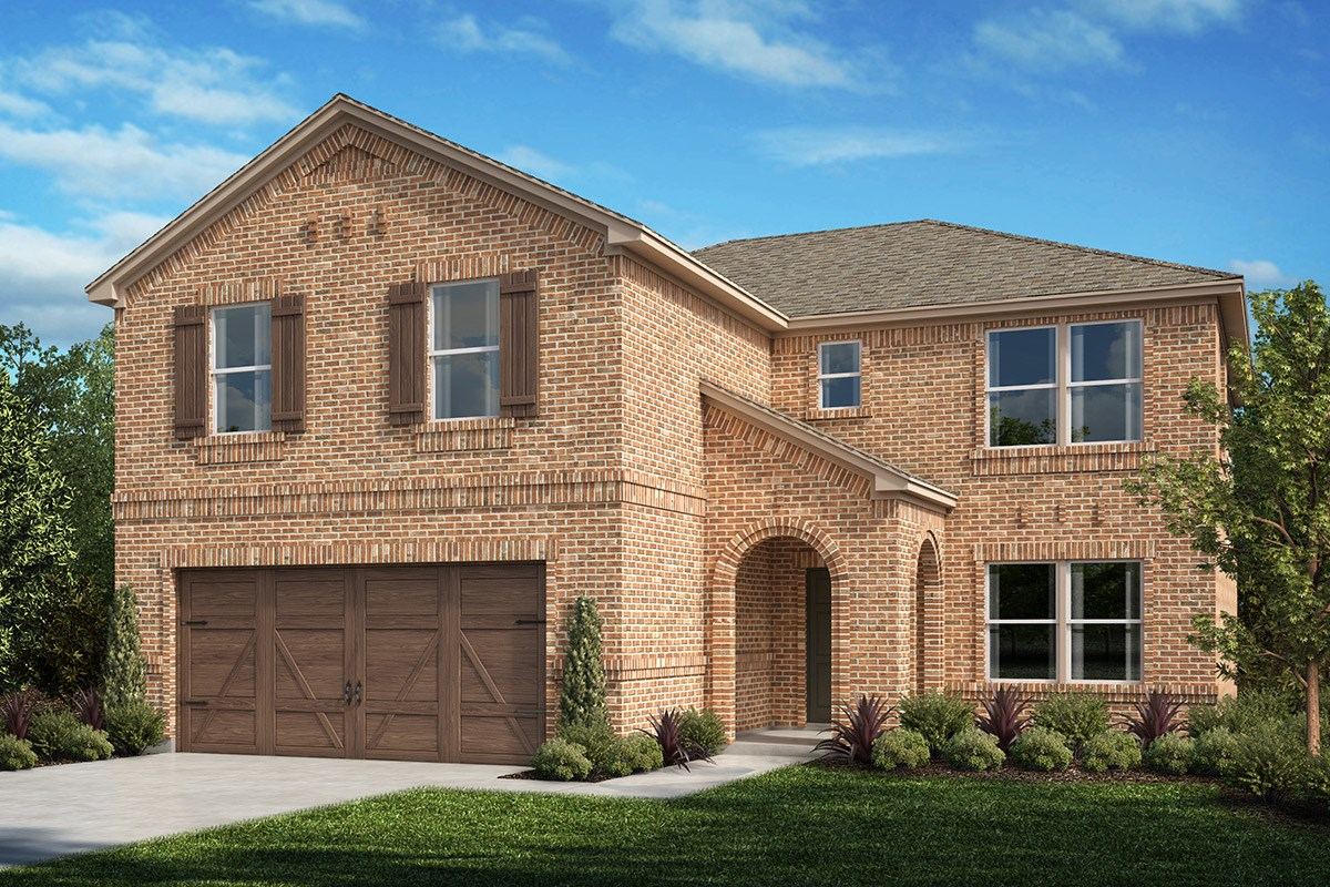New Homes in Celina, TX - Creeks of Legacy Plan 2535 Elevation A
