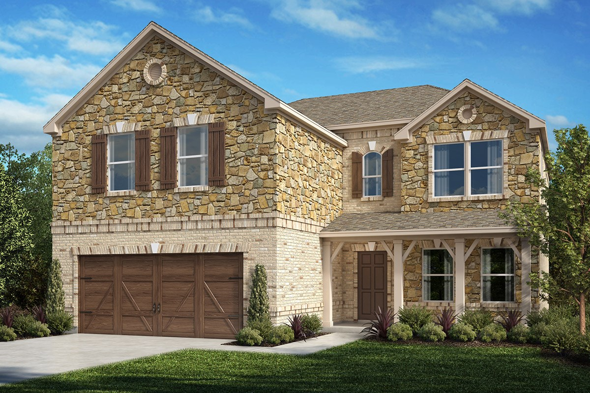New Homes in Celina, TX - Creeks of Legacy Plan 2535 Elevation D