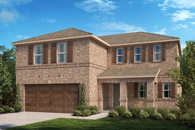 New Homes in Celina, TX - Plan 2547 Elevation A